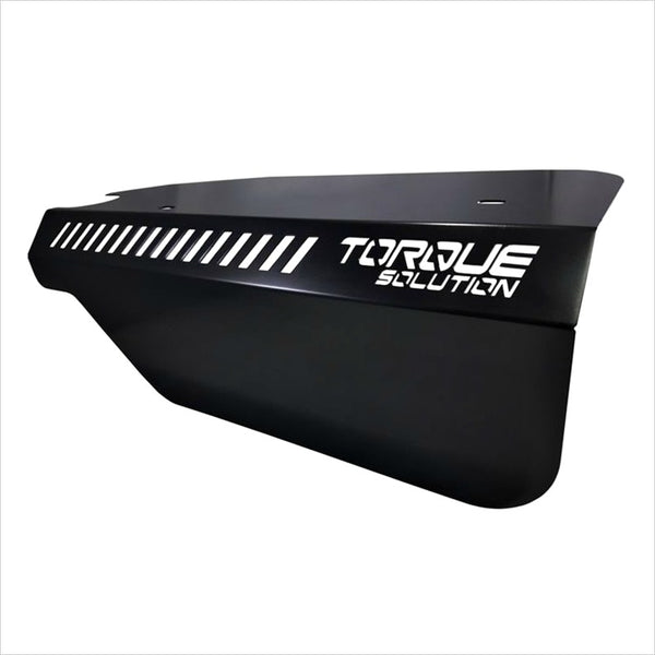 Torque Solution Engine Pulley Cover Black WRX (2015-2020)