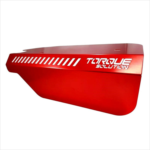 Torque Solution Engine Pulley Cover Red WRX (2015-2020)