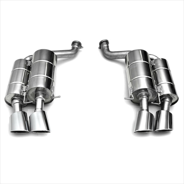 Eisenmann Race Exhaust with 4x120x77mm Oval Tips BMW E60 M5