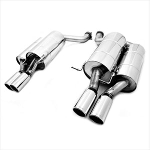 Eisenmann Race Exhaust with 4x83mm Round Tips BMW E60 M5