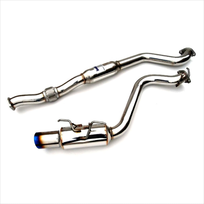 Invidia N1 Catback Exhaust Titanium Tips WRX Sedan (2008-2014) STI Sedan (2011-2014)