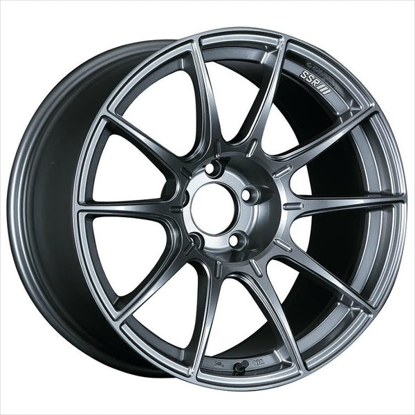 SSR GTX01 Dark Silver Wheel 18x10.5 5x114.3 22mm