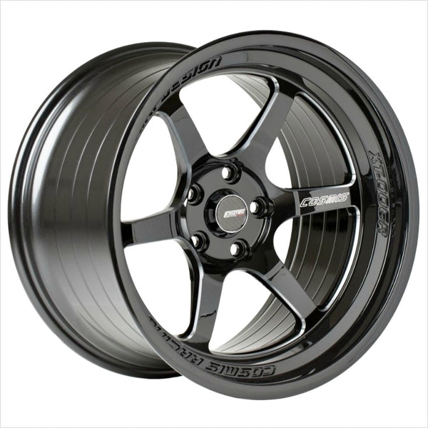 Cosmis XT-006R Black Machined Spoke Wheel 18x9.5 5x114.3 +10mm