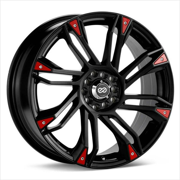 Enkei GW8 Black Wheel 18x7.5 4x100/108 42mm