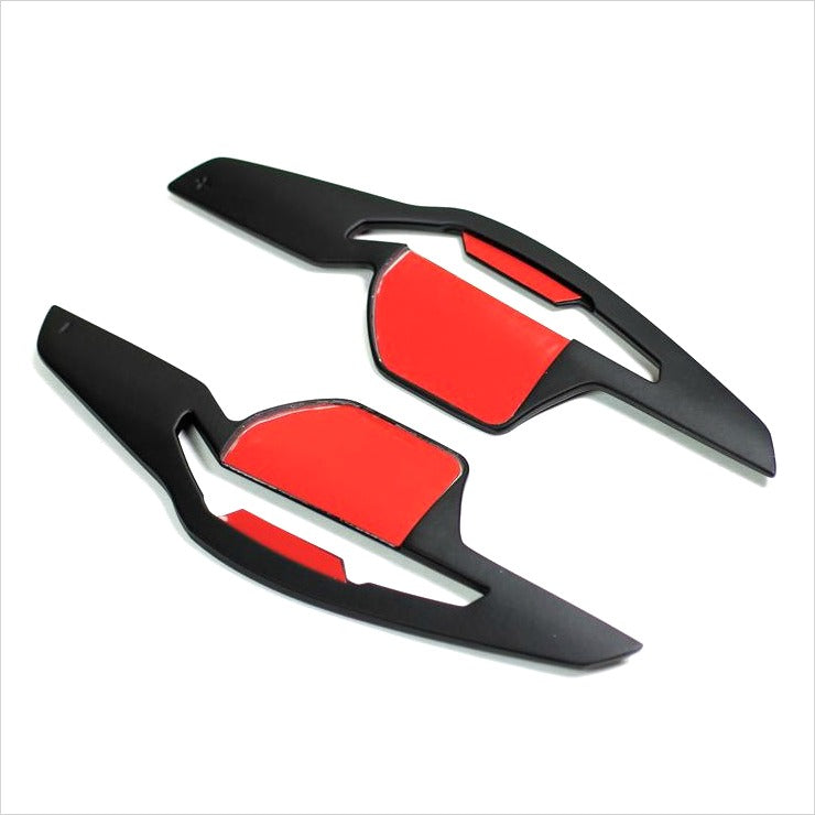 Autotecknic Competition Steering Shift Paddles Matte Black Audi DSG Vehicles