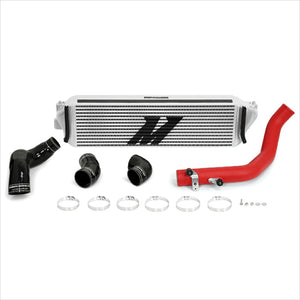 Mishimoto Intercooler Kit Silver Core Red Piping