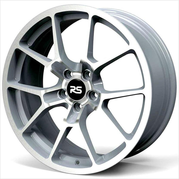 Neuspeed RSe10 Machined Silver Wheel 19x8.5 5x112 45mm