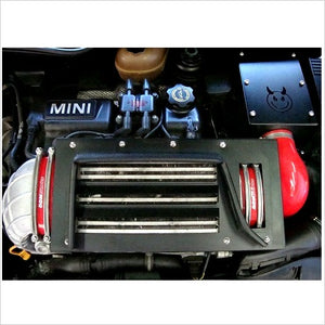 DDMWorks Intercooler Diverter Black MINI S R53