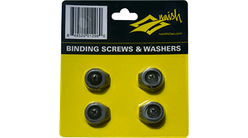 NAISH BINDING SCREW & WASHER SET (4)