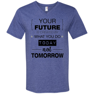 Your Future V2 V-Neck T-Shirt