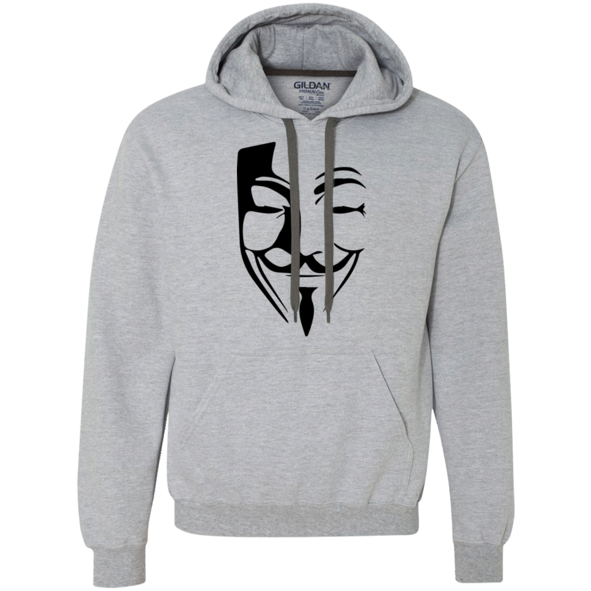 Anonymous Heavyweight Pullover Fleece Sweatshirt