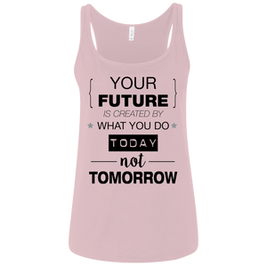 Your Future V2 Bella + Canvas Ladies' Relaxed Jersey Tank