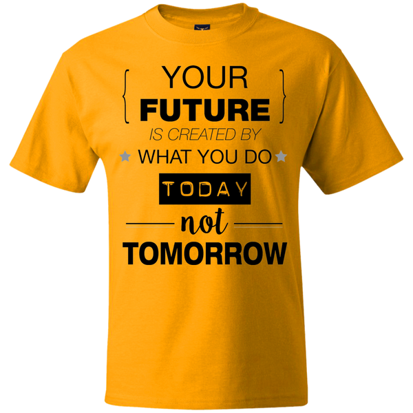 Your Future V2 Hanes Beefy T-Shirt