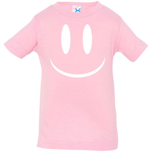 Smiley Face V2 Rabbit Skins Infant Jersey T-Shirt