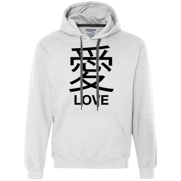 Japanese Love Heavyweight Pullover Fleece Sweatshirt