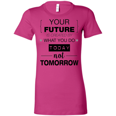 Your Future V2 Bella + Canvas Ladies' Favorite T-Shirt