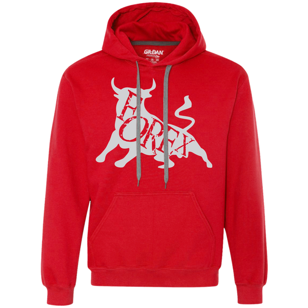 Forex Bull v3 Heavyweight Pullover Fleece Sweatshirt