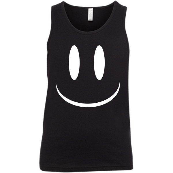 Smiley Face V2 Bella + Canvas Youth Jersey Tank