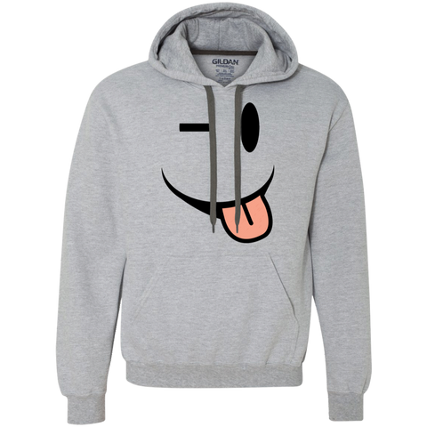 Smiling Tongue Heavyweight Pullover Fleece Sweatshirt