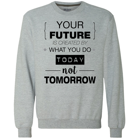Your Future V2 Heavyweight Crewneck Sweatshirt 9 oz.