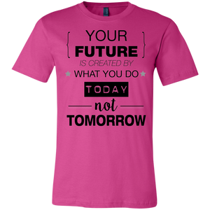 Your Future V2 Bella + Canvas Unisex Jersey Short-Sleeve T-Shirt