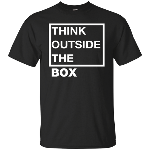 Think Outside The Box_white Ultra Cotton T-Shirt