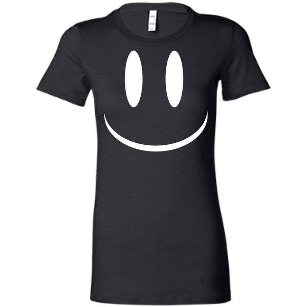 Smiley Face V2 Bella + Canvas Ladies' Favorite T-Shirt