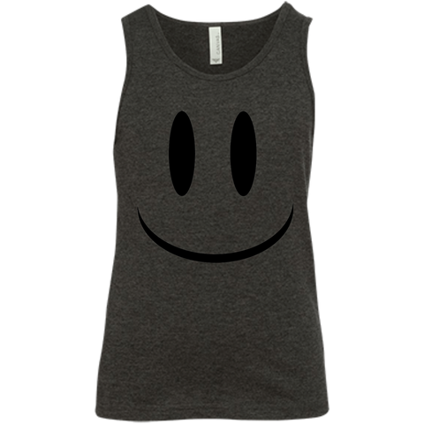 Smiley Face V1 Bella + Canvas Youth Jersey Tank