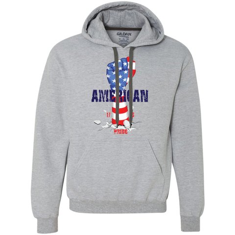 American Pride Heavyweight Pullover Fleece Sweatshirt