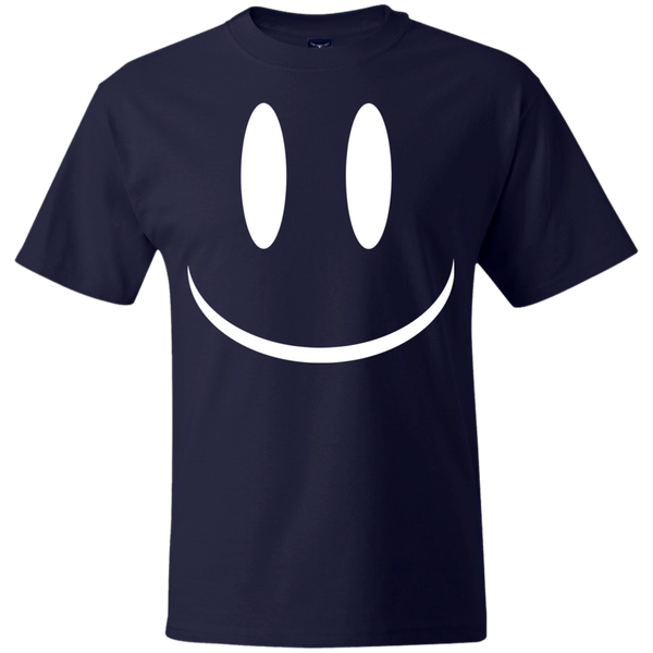 Smiley Face V2 Hanes Beefy T-Shirt