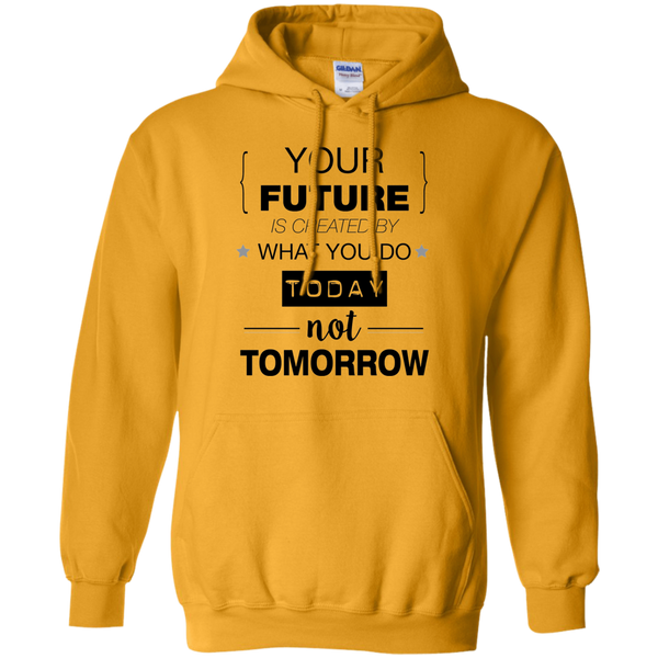 Your Future V2 Gildan Pullover Hoodie 8 oz.