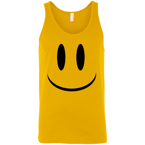 Smiley Face V1 Bella + Canvas Unisex Tank