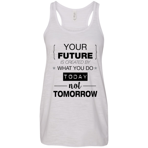 Your Future V2 Bella + Canvas Flowy Racerback Tank