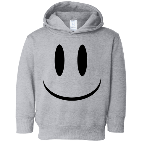 Smiley Face V1 Rabbit Skins Toddler Fleece Hoodie