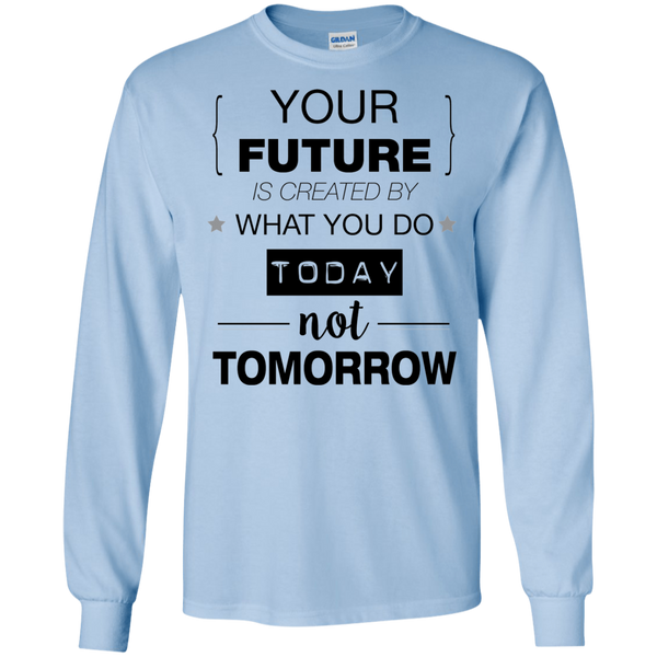 Your Future V2 LS Ultra Cotton T-Shirt