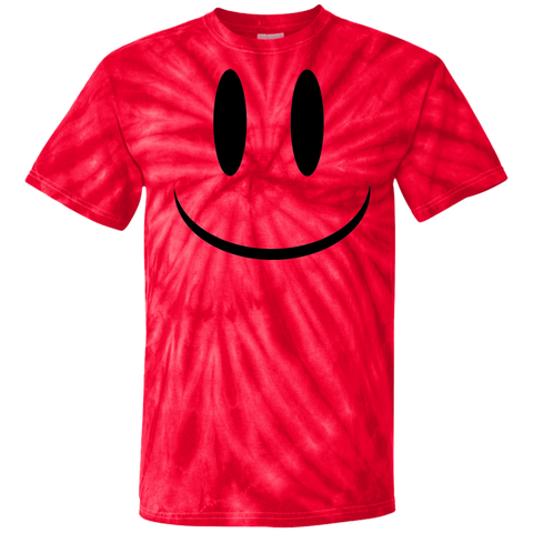 Smiley Face V1 Cotton Tie Dye T-Shirt