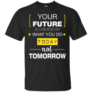 Your Future Today_White Ultra Cotton T-Shirt