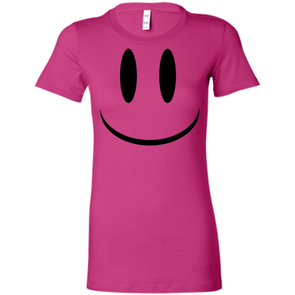Smiley Face V1 Bella + Canvas Ladies' Favorite T-Shirt
