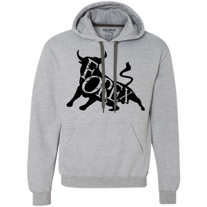Forex Bull Heavyweight Pullover Fleece Sweatshirt