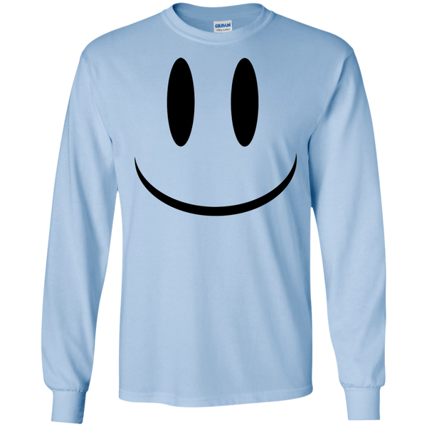 Smiley Face V1 LS Ultra Cotton T-Shirt