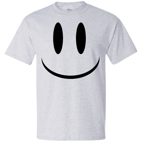 Smiley Face V1 Hanes Beefy T-Shirt
