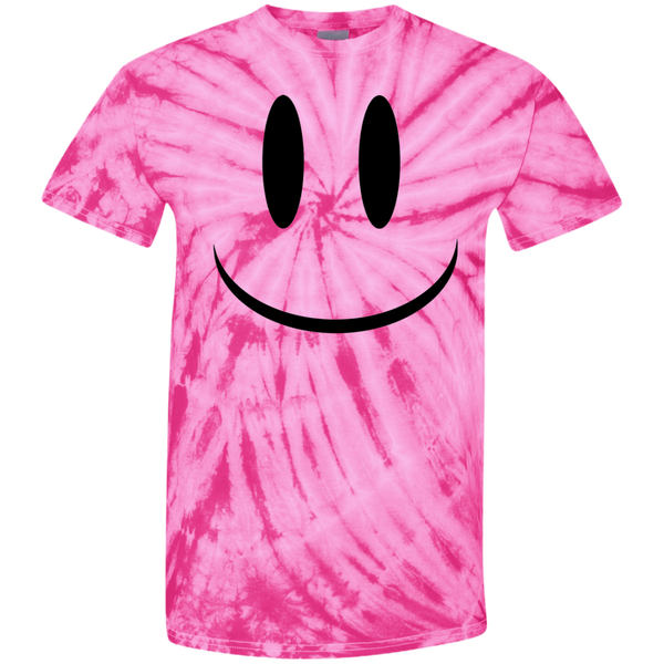 Smiley Face V1 Youth Tie Dye T-Shirt