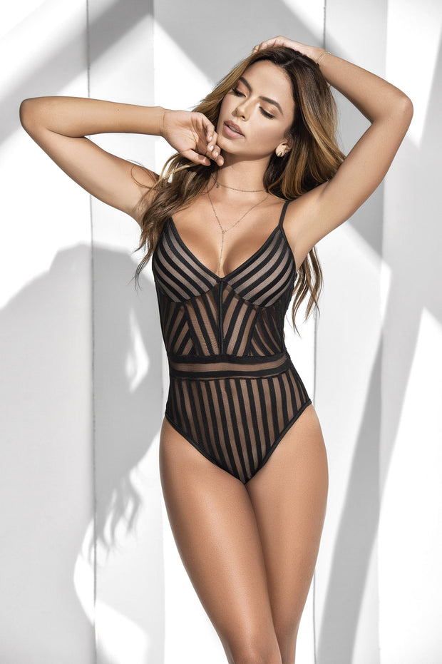 Bodysuit - Black - X-Large