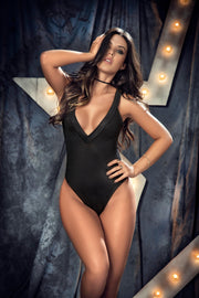 Bodysuit - Black - Large