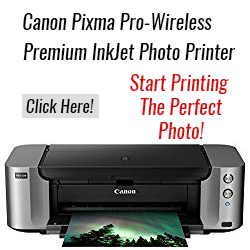 Canon Pixma Pro Wireless Printer
