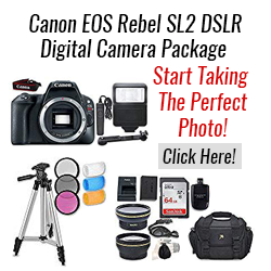 Canon EOS Rebel SL2 DSLR Digital Camera