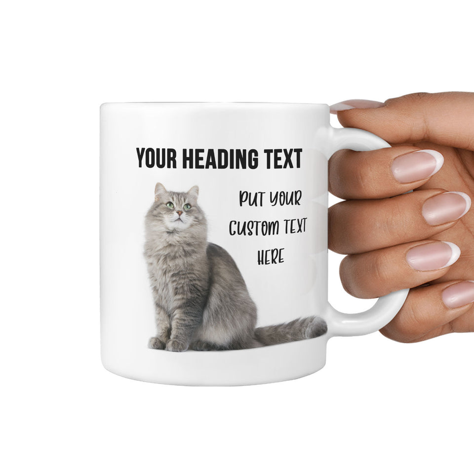 cat print coffee mugs