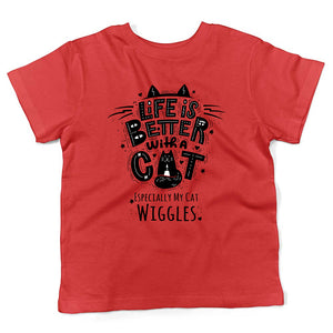 red cat shirt