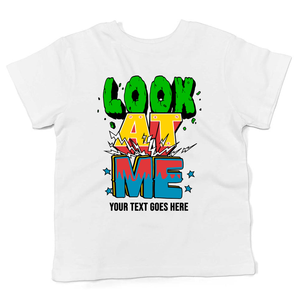 Tshirt For Kids With Personalized Text