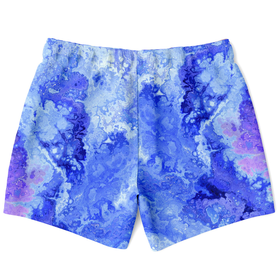 Liquid Ink Tye Dye Swim Shorts